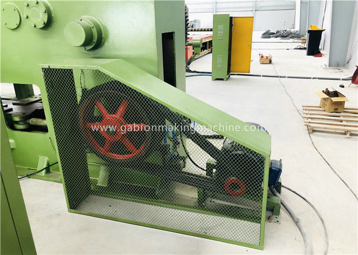 Spring Coiling Gabion Box Machine Size Customized Structure Simpleness