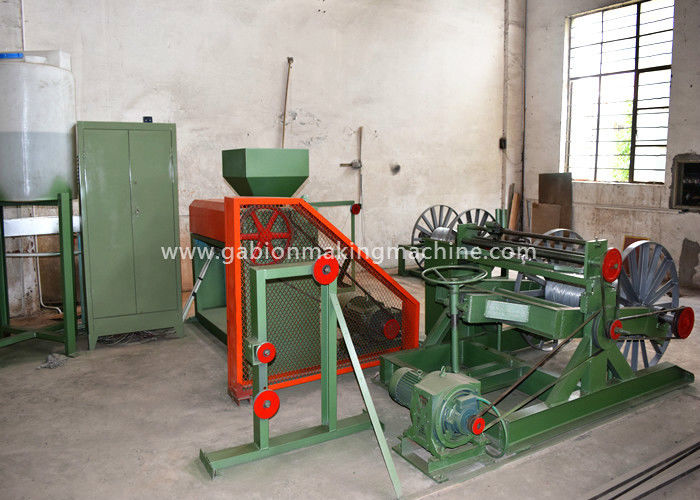 Durable PVC Wire Making Machine Synchronized / Separate Control Rail Width